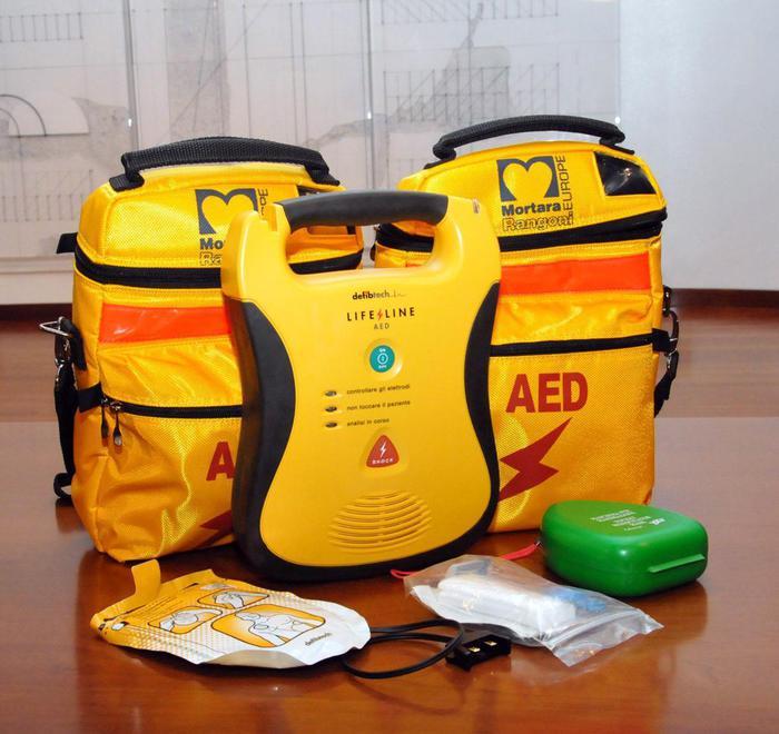 Obbligo defibrillatore per società sportive