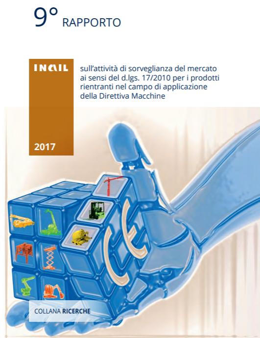 Direttiva Macchine: Rapporto Inail - Edizione 2017