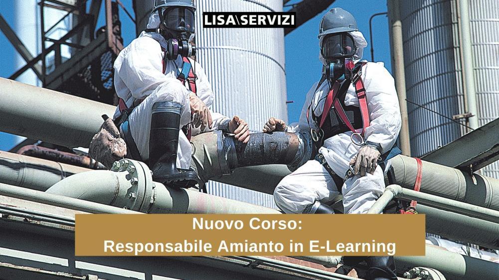 Nuovo Corso: Responsabile della Gestione Amianto E-Learning