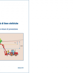 Lavori in prossimità di linee elettriche aeree: Manuale Inail