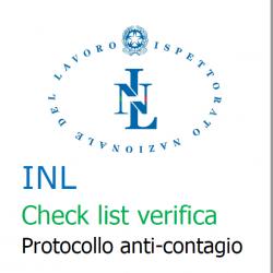 Aggiornamento Check-list INL Coronavirus