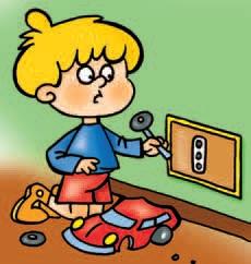 La salute e la sicurezza del bambino infortuni domestici sicurezza in casa