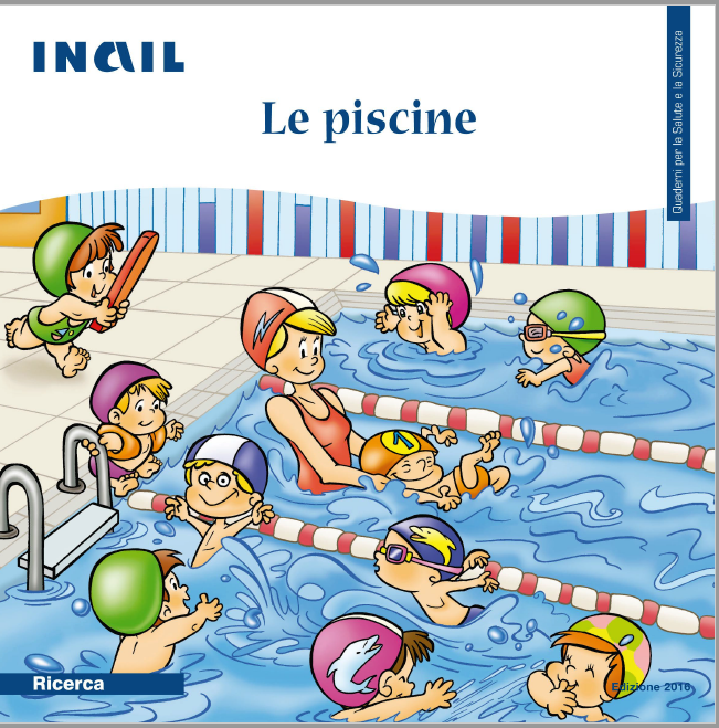 Quaderno Inail sicurezza Piscine